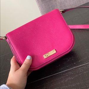 Kate spade hot pink crossover bag